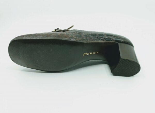 Vintage heeled loafers by Celine