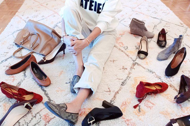 Buy shoes and dress like a Parisian