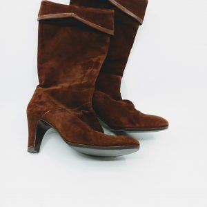 Brown vintage boots for sale