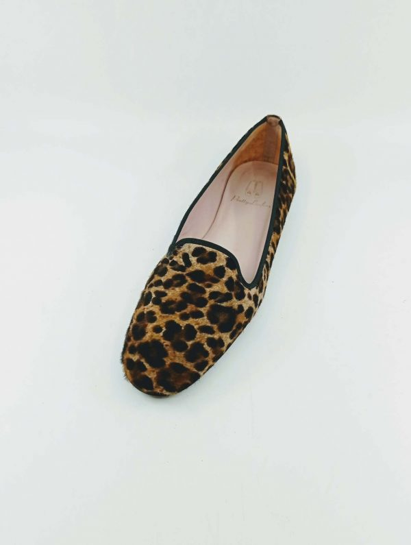 Leopart printed loafers