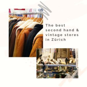 find the best second hand in Zurich