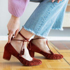 Shoes Sezane second hand Suisse