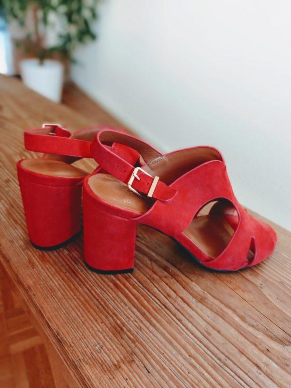 red sandals Bocage