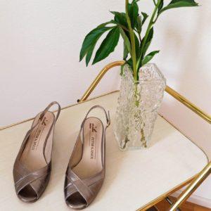 Mid heels sandals