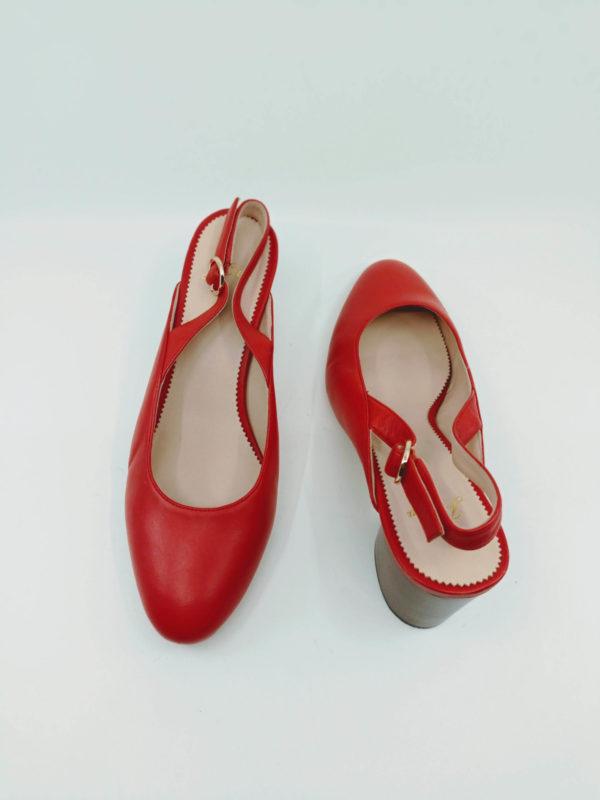 Babies with block heels