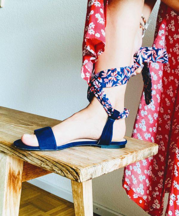 second hand flat sandals