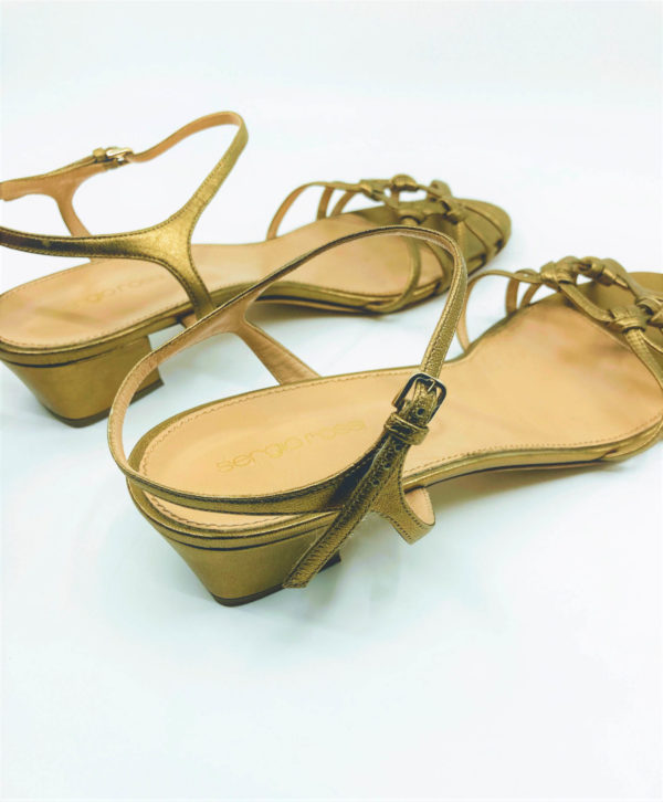 Sandals with square heels in second hand