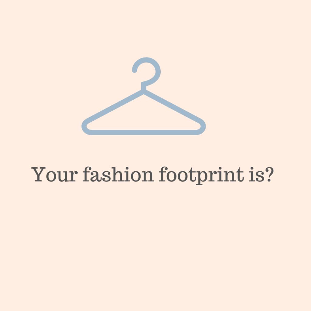 your closet carbon impact