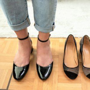 Mid block heels babies